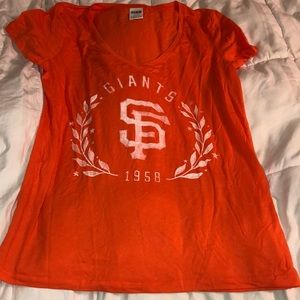Giants v-neck from PINK
